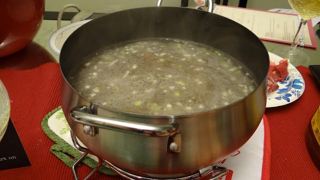 Melting Pot's Court Bullion Broth for fondue