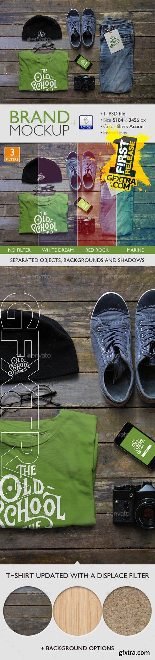 Brand Mockup Template - Graphicriver 9342584