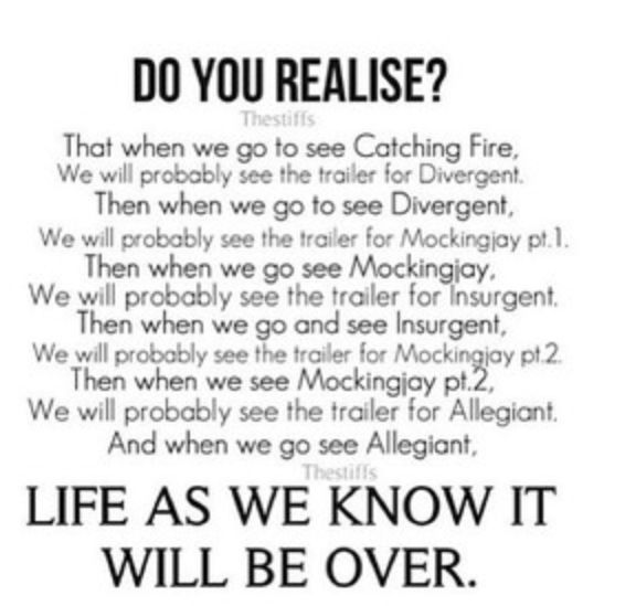 OMG!! My life will be over! AHHH