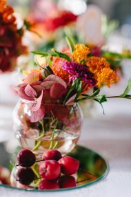 Colorful Fall Germany Wedding at Gut Sonnenhausen - Style Me Pretty