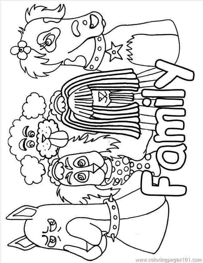 Donkey Ollie Coloring Pages