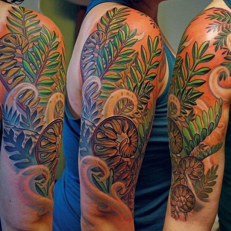 Tattoo by timsenecal (Tim Senecal) Ressurection Ferns