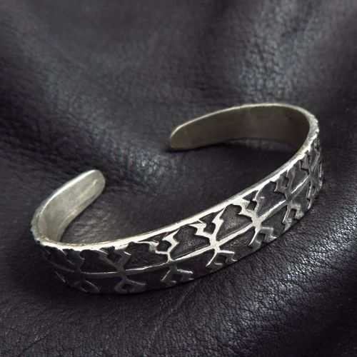 Silver Viking bracelet from Gotland. Reenactment. Medieval. Norse. Viking. SCA.