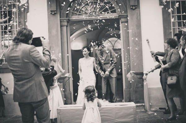 Un matrimonio vintage in villa: Viola e Stefano - Palloncini