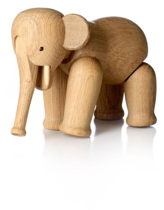 Kay Bojesens Elefant i eg #inspirationdk #danskdesign