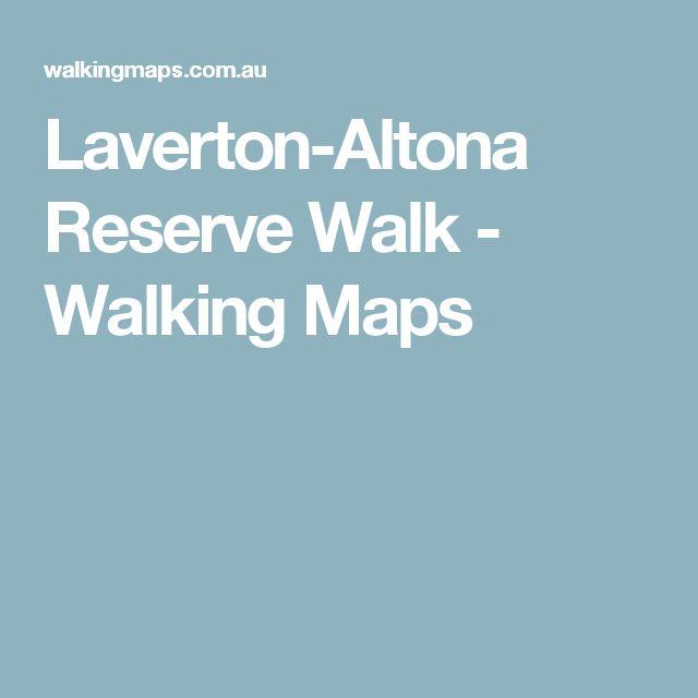Laverton-Altona Reserve Walk - Walking Maps