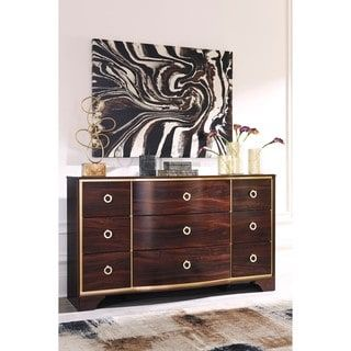 Signature Design by Ashley Lenmara Reddish Brown Dresser