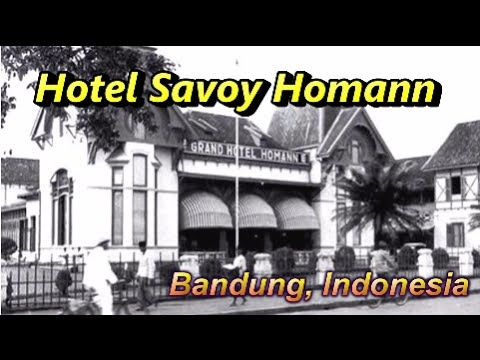 Wisata Indonesia : Hotel Savoy Homann Bandung Jawa Barat Indonesia, Mopon ID - YouTube