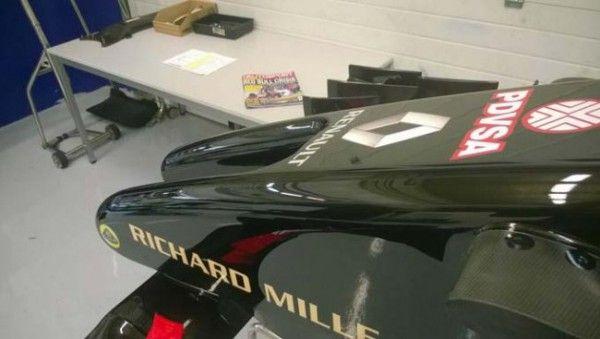 Formule 1 : La Lotus Mercedes échoue au crash-test