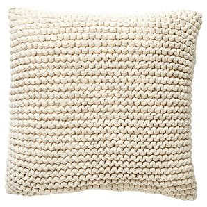 Picardy Knitted Cushion - Natural – Target Australia