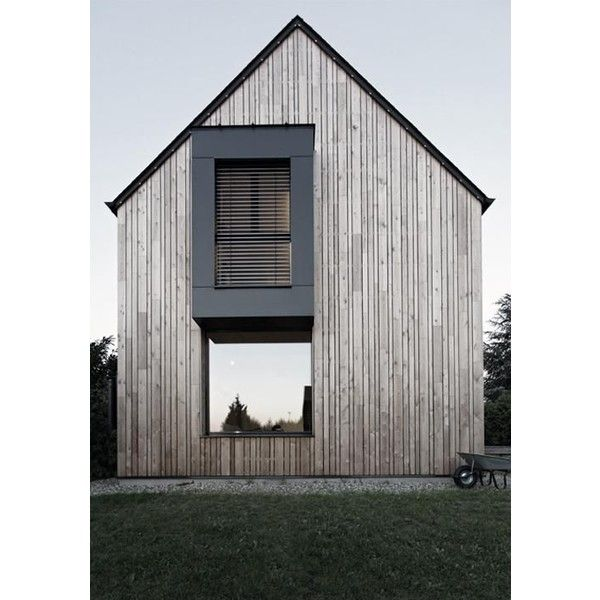 Modern Barn House | I Started With Legos | Pinterest