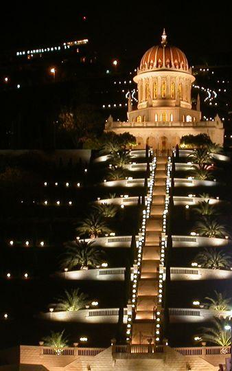 Baha'i Terraces & Shrine of the Báb, Haifa, Israel