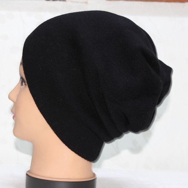 Autumn/Winter Warm Knitting Wool Hat Women/Men Casual High Quality Black Off White Soft Woolen Beanie Cap Boy/Gilr Hip-Hop Gorro