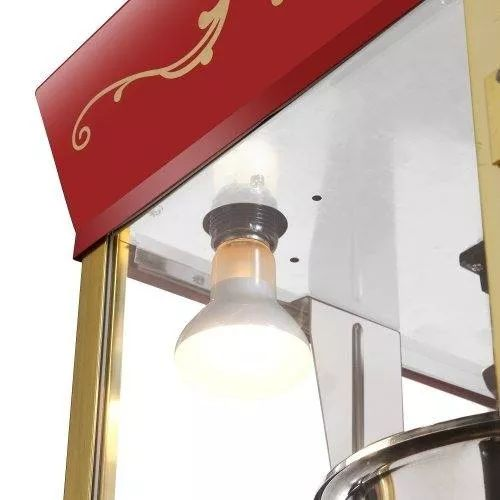maquina para hacer palomitas - rojo matinee estilo cine 8 oz