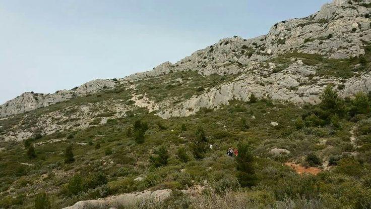 La Sainte Victoire... Le pas de l'Escalette