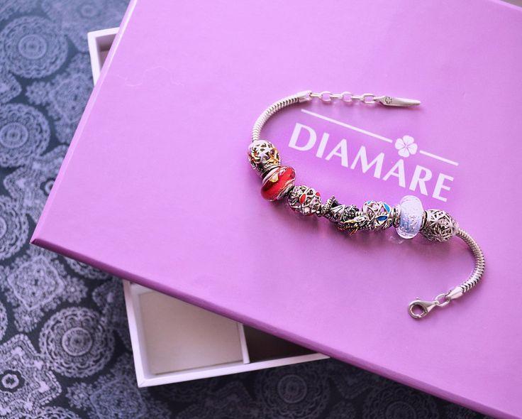 """Рубрика """"Мой первый браслет Diamare"""", чудесные фотографии от нашей покупательницы Дарины Давиденко."""