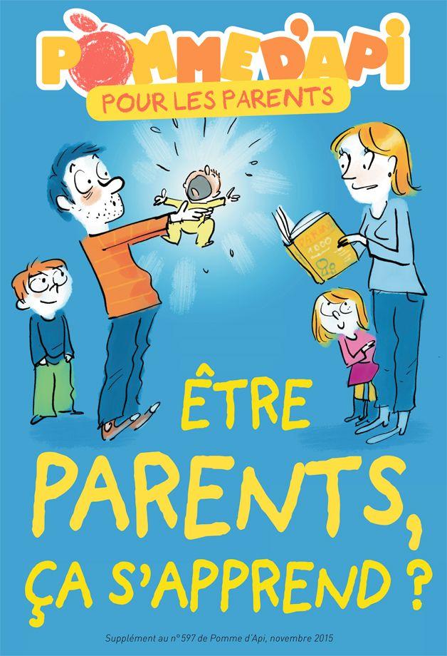 Etre parents, est-ce que ça s'apprend ? avec #Pommedapi http://tiny.cc/hgg04x