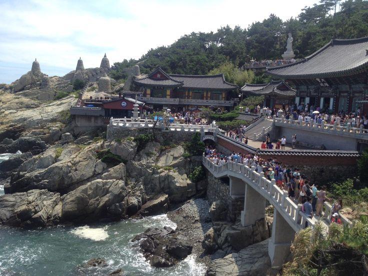 Korean temple in Busan