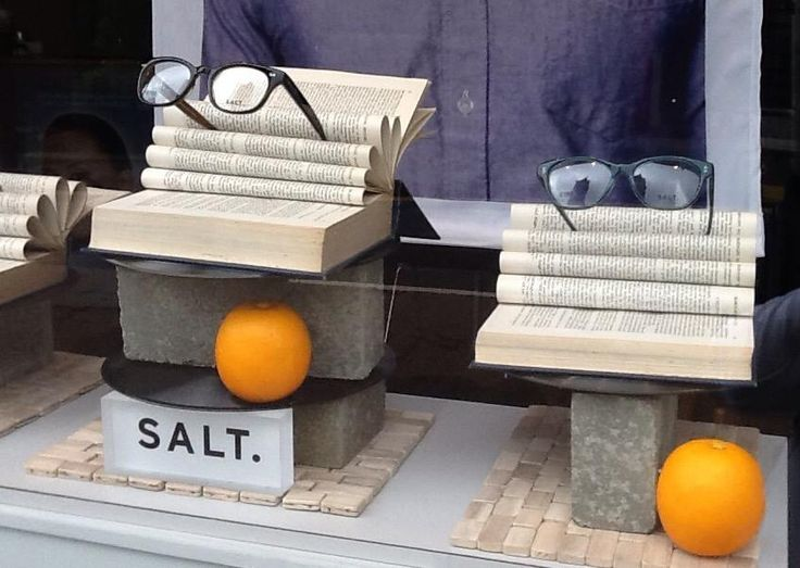 """P AND A EYECARE, Crieff, Scotland, """"Between the pages of a book is a lovely place to be"""", for Salt Optics, pinned by Ton van der Veer"""