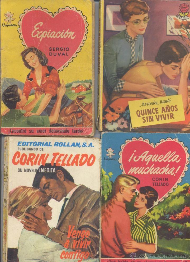 LOTE DE 4 NOVELAS ROMANTICAS- COLECCION ORQUIDEA-ROSAURA-CORIN TELLADO - Foto 1