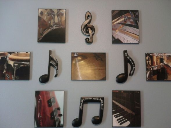 Best Music Themed Rooms Ideas On Pinterest Music Themed