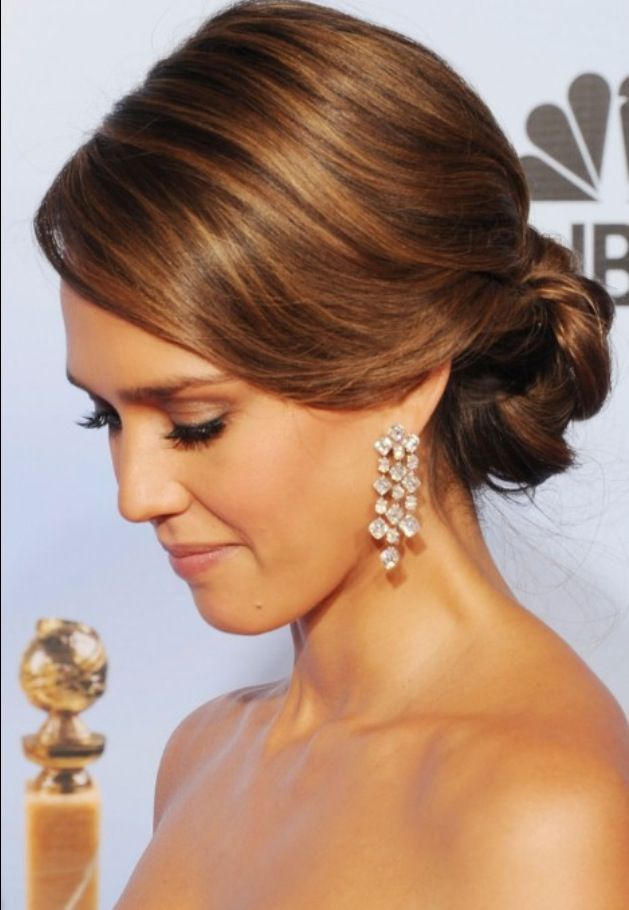 Wedding Hairstyles Side Swept Chignon | Daily Women Hairstyles
