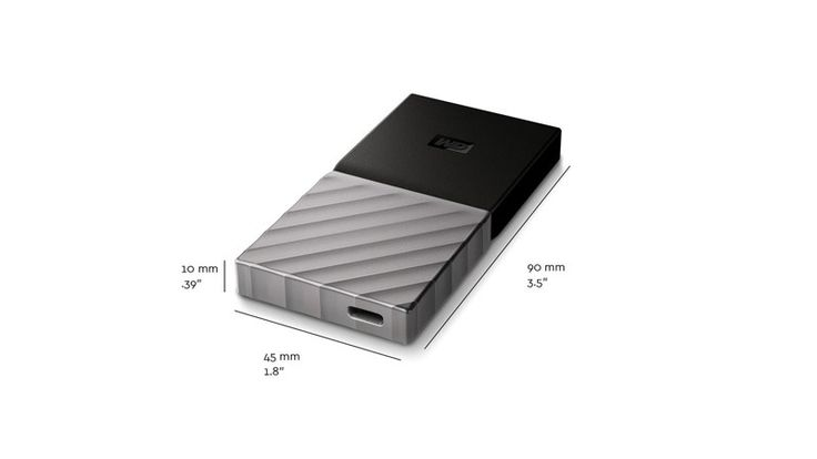 Western Digital Launch Their First Portable SSD With USB Type C