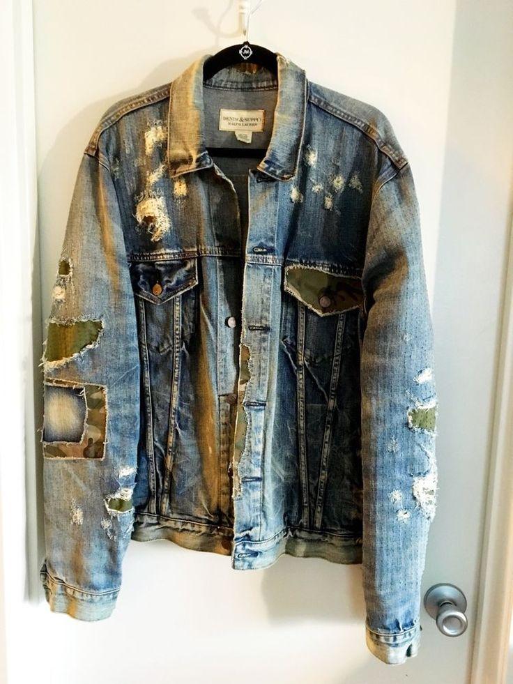 1000  ideas about Men's Denim Jackets on Pinterest | Diesel looks ...