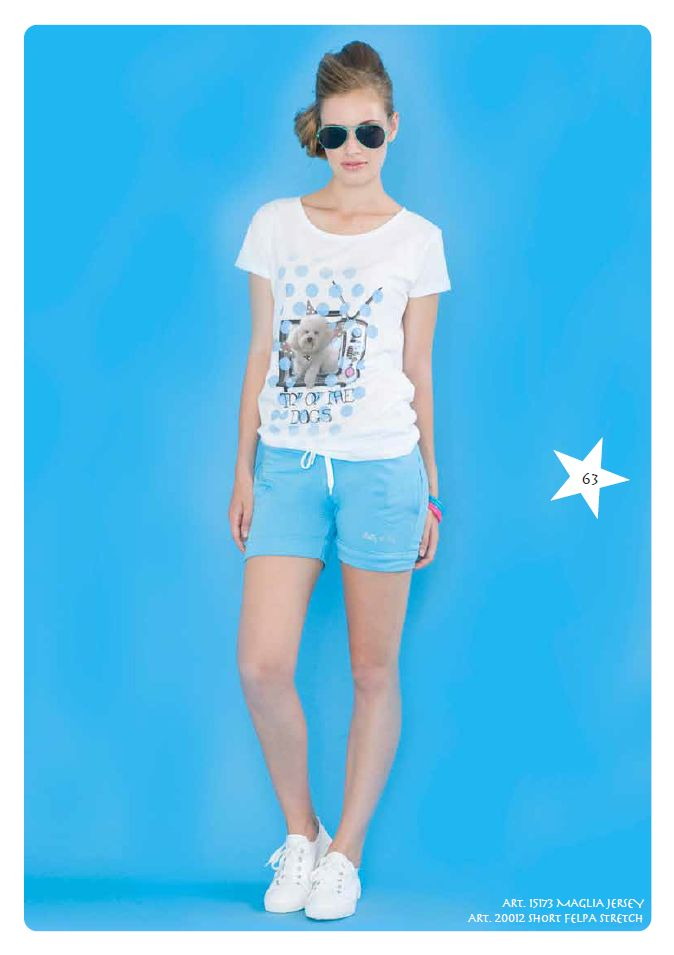 #Tshirt jersey e #shorts #felpa stretch #LollyStar - Scopri tutta la collezione #SpringSummer qui --> http://www.lollystar.it/