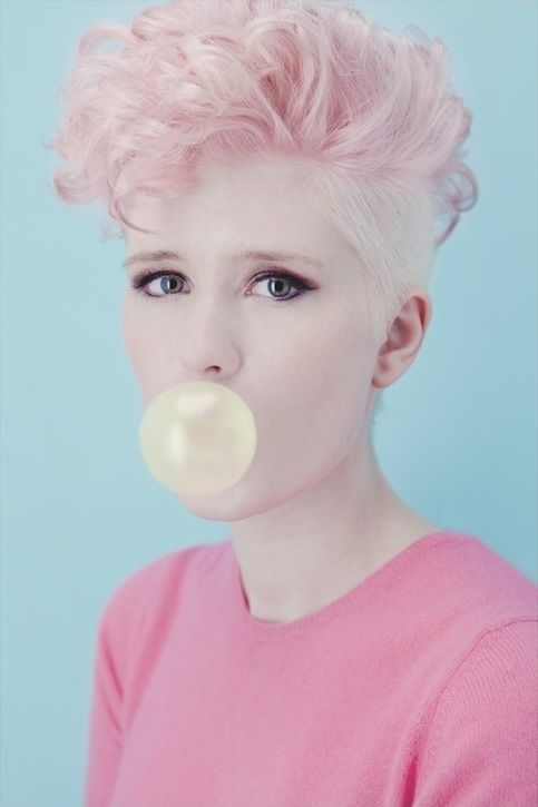 New Post : Soft Pink Truth  http://susofercort.wordpress.com/  Soft, Pink, Truth, Pink Hair, Pelo Rosa, Suso Fercort, Inspiration, Brush