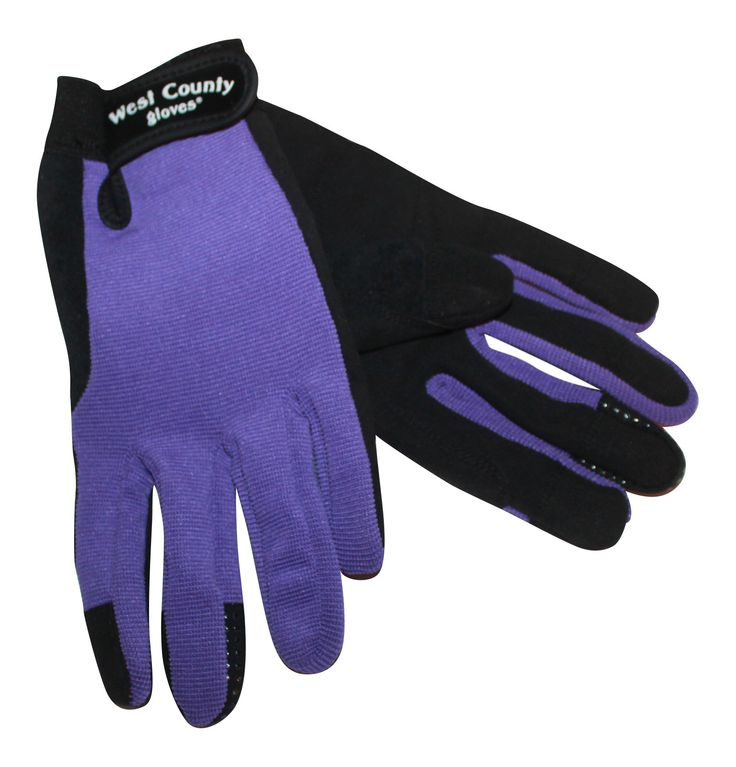 West County Eco Smart Garden Gloves Purple   X Small  ** Hurry! Check Out  This Great Item : Gardening Supplies