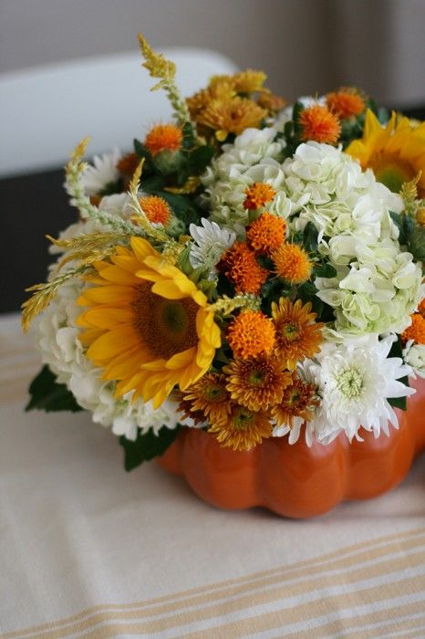 If you're heading off to spend Thanksgiving at a friends' or family member's house, it's always a good idea to bring a hostess gift. It could be as simple as a bottle of wine, or something you've made, like this DIY flower arrangement. You can make this in a hollowed out pumpkin or squash, or [...]