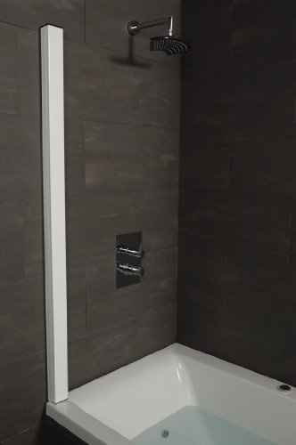 Outasight - Foldaway Over Bath Shower Screen (White)  Price : £176.00 http://www.showeringforall.com/Outasight-Foldaway-Shower-Screen-White/dp/B0091CFZPS
