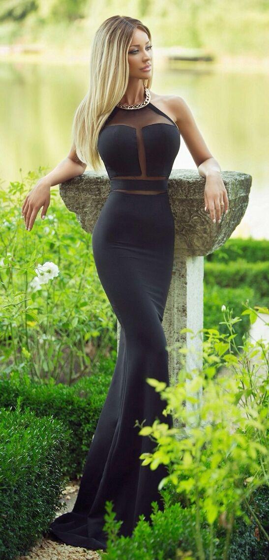 "Black dress...""Net Worth"""