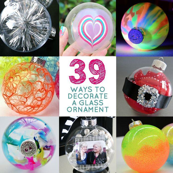 39 Ways to Decorate a Glass Ornament via @BuzzFeed  Amazinggggg