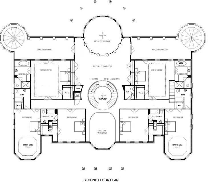 Best 25+ Luxury Floor Plans Ideas On Pinterest | Large House Plans