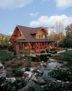 What a cute log cabin