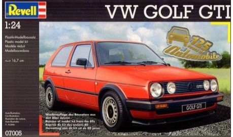 Revell - 7005 - Maquette de Voitures / cars model kits  - VW Golf GTi -1/24