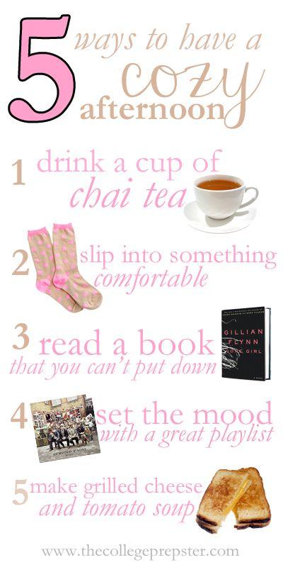 De-stress tip