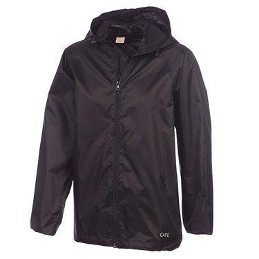 Cape Adult's Pack It Rain Jacket Black