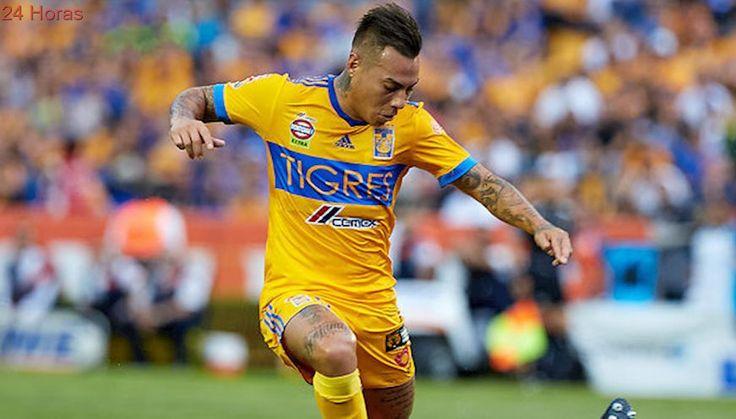 Eduardo Vargas fue elegido como la figura de la jornada 7 del Apertura mexicano