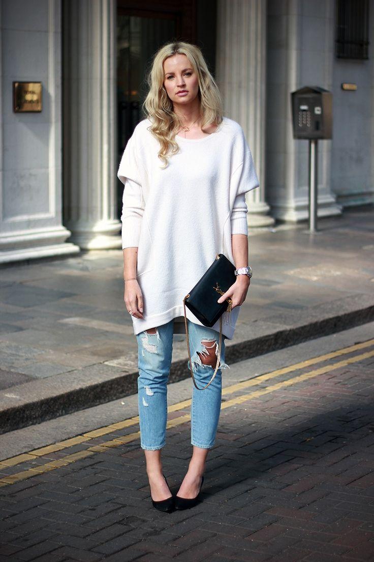 Ripped Jeans + YSL Tassel Purse http://anoukyve.creatorsofdesire.com/sunny-sunday-greetings-antwerpen/