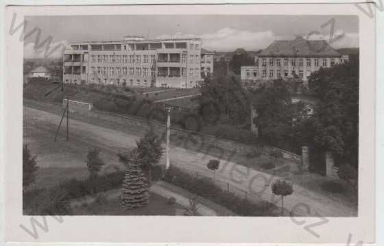 Nemecky (after 1945 Havlickuv) Brod Masaryk District Hospital. More info at: http://www.onhb.cz/article.asp?nDepartmentID=14&nArticleID=677&nLanguageID=1