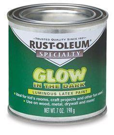 Rust-oleum glow in the dark paint