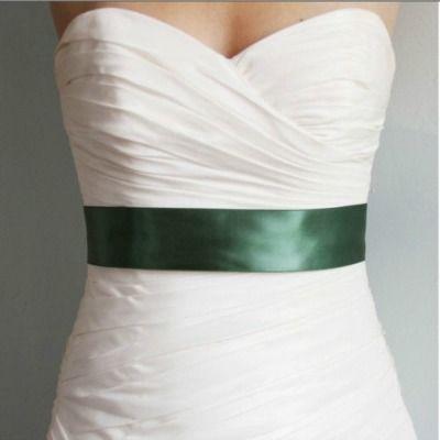 Emerald Wedding Dress sash Las Vegas Wedding Hair and Makeup - Muse Artistry Hair & Makeup | Blog