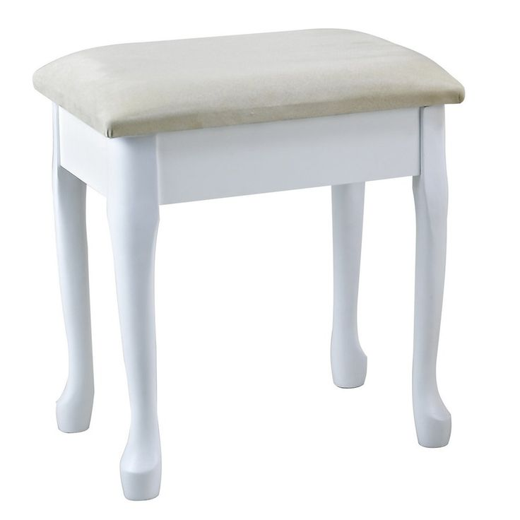 Lily Wooden Dressing Stool  £50
