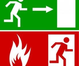 Evacuation Procedures for a Fire