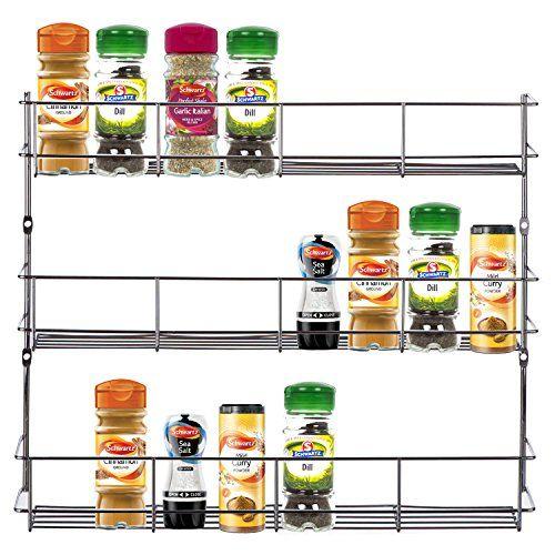 VonShef Présentoir à épices/herbes à 3 étages fixable au mur ou à l'intérieur d'un placard (Installation facile) VonShef http://www.amazon.fr/dp/B00ELDFHUA/ref=cm_sw_r_pi_dp_dEeWwb18KGVWN