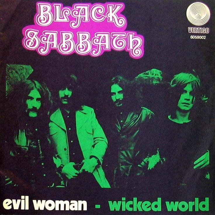 black sabbath evil woman single