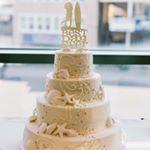 Gold and Teal Beach Wedding  WeddingChicks.com